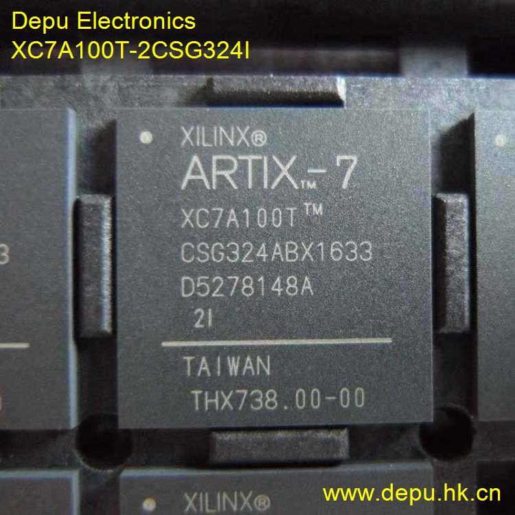 XC7A100T-2CSG324I